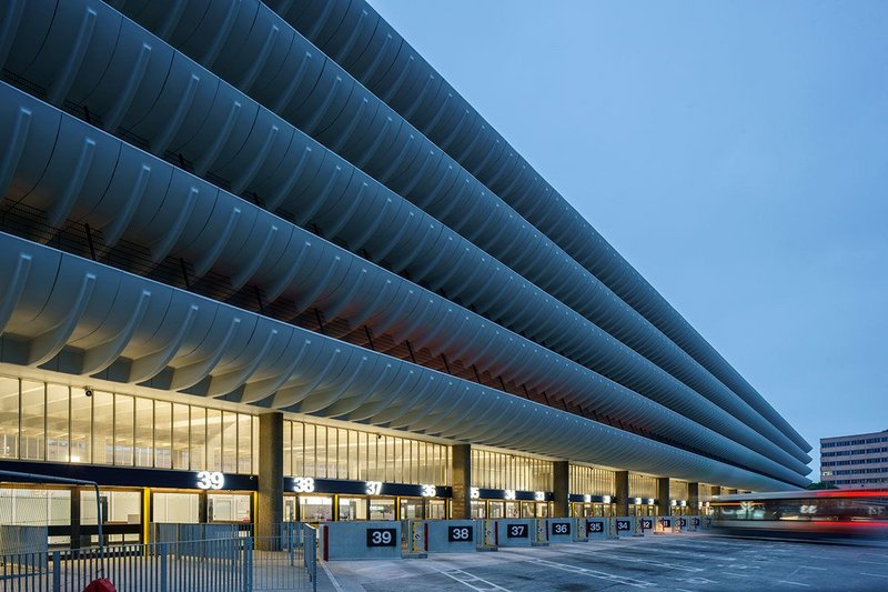 Preston Bus Station.
