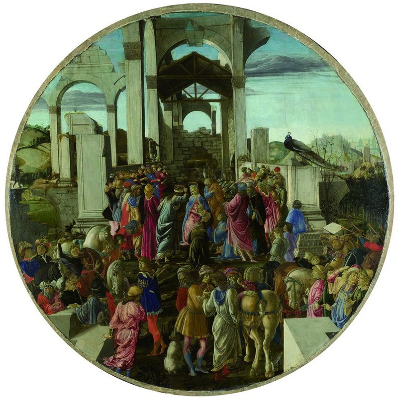 Botticelli's Adoration of the Kings hints at the precariousness of joyful states.