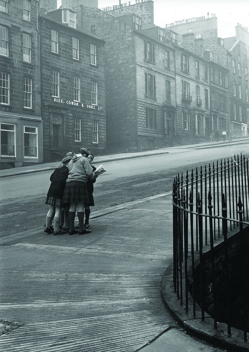 Corner of Dublin Street and Abercrombie Place, Edinburgh New Town, 1964.