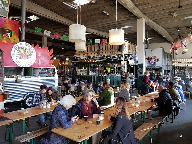 Copenhagen Street Food boasts 39 food stalls, vans and bars.