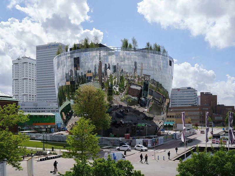 MVRDV's Depot for Museum Boijmans van Beuningen in Rotterdam – a mirror repository for the city.