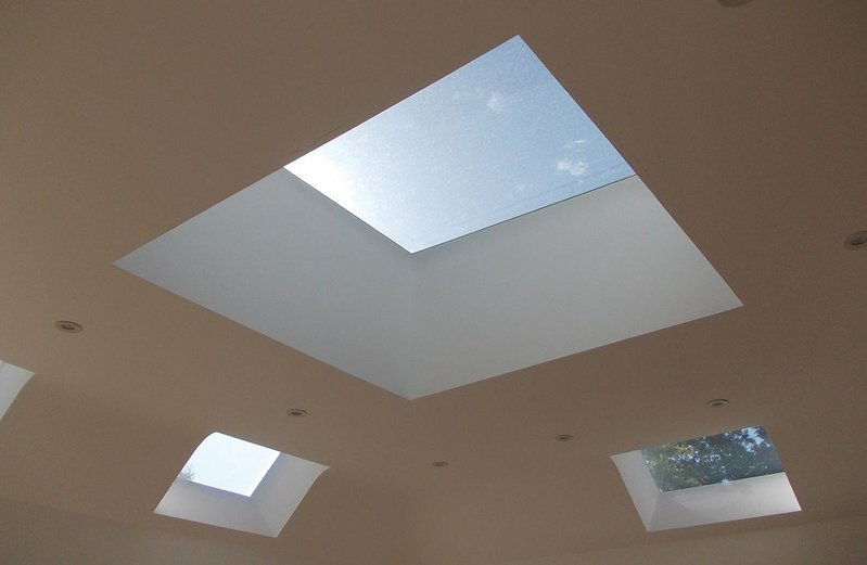 The Neo Plateau rooflight has a two step installation process (drop on and bolt up) and an external frame profile height of only 102mm.