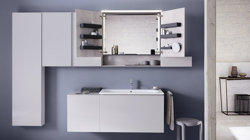 Geberit Acanto bathroom furniture.