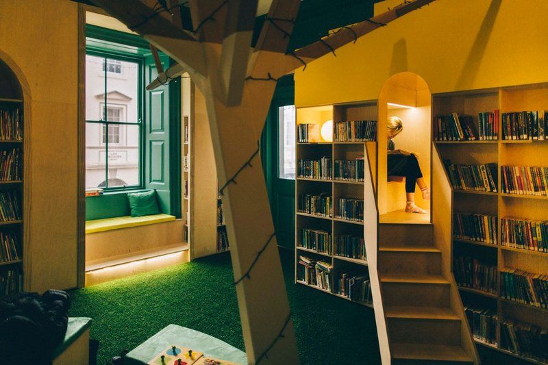 Guille-Allès Children's Library, St. Peter Port