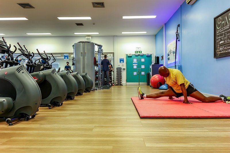 Uxbridge College specifies Gerflor for revamped fitness centre.