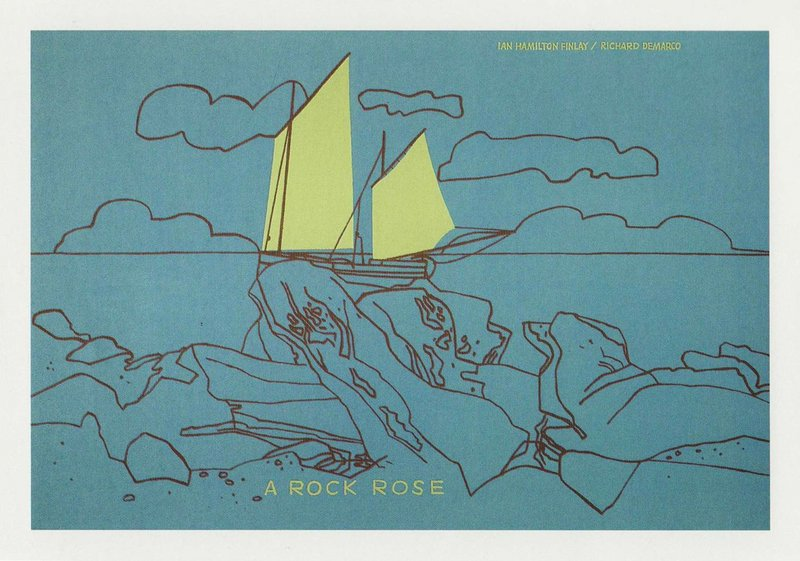 A Rock Rose [collaboration with Richard Demarco], 1971.