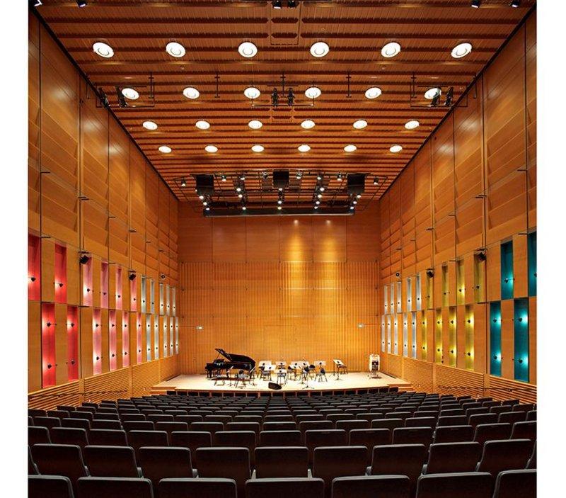 Juhani Pallasmaa, Korundi Cultural Centre Concert Hall, Rovaniemi, Finland.