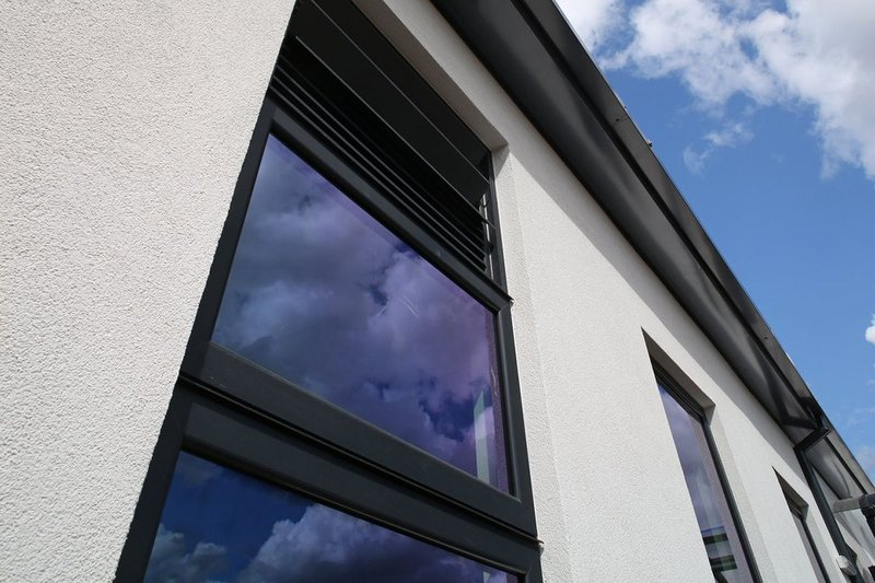 Senior Architectural Systems' thermally efficient PURe windows.
