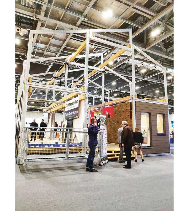 Several attempts have been made at modular build systems, this is the latest effort from ZedFactory showcased at FutureBuild 2019.