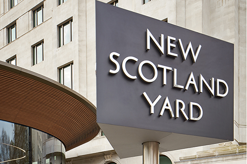 New Scotland Yard Westminster London by AHMM.