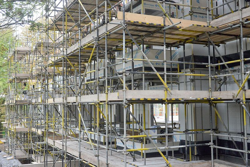 British Gypsum Glasroc X sheathing board was first specified for Bupa's Wood Norton retirement development in Worcestershire.