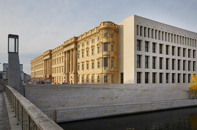 The baroque Humboldt Forum replaces the DDR's Palace for the Republic - you wouldn't recognise it now.