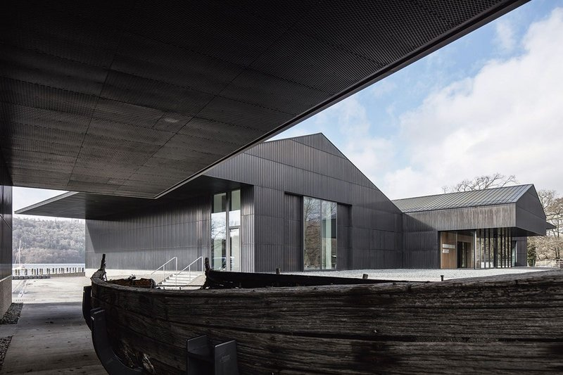 'A compelling composition of vernacular forms': Carmody Groarke's Windemere Jetty Museum.