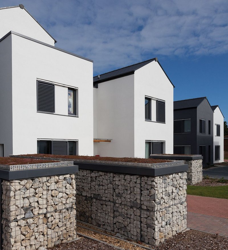 The 28-home project on the Isle of Wight is one of the first developed by a housing association to Passivhaus standards.