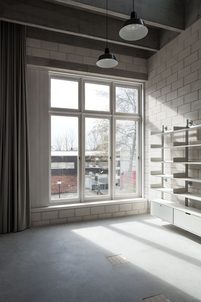 The pared-back aesthetic of concrete block and screed floor might be simple, but it is uncompromised, highly considered and detailed.