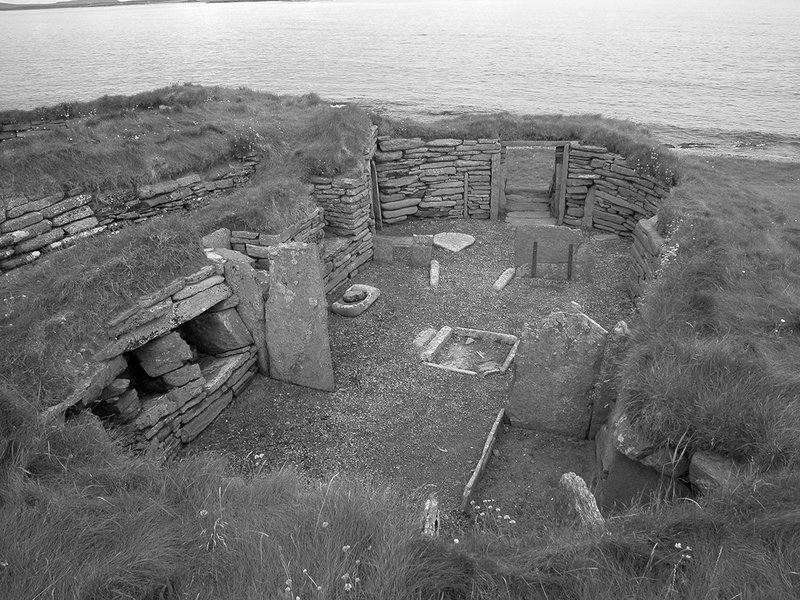 Knap of Howar, almost a millennium older than similar dwellings at Skara Brae.