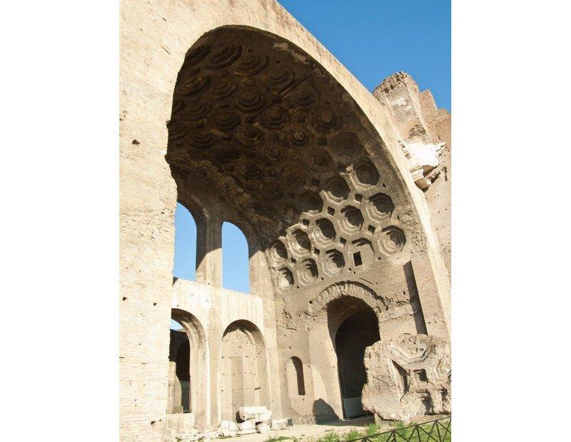 Basilica of Maxentius, Rome, 308-312