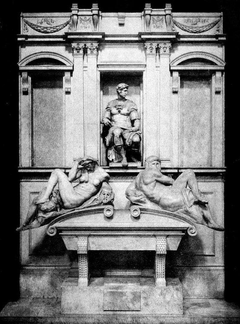 Tomb of Giulino de Medici.