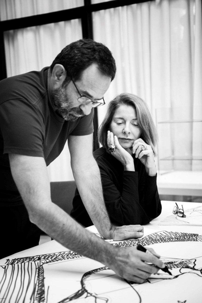 Ludovica and Roberto Palomba founded Palomba Serafini in Milan in 1994.