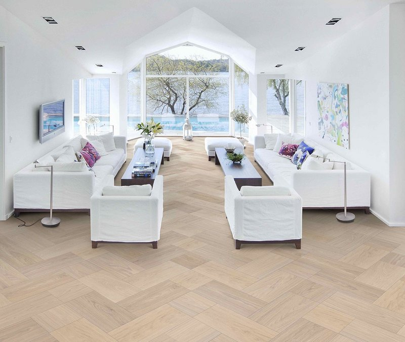 Unlimited wood floor patterns with
