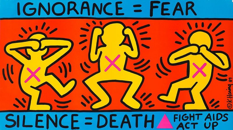Ignorance = Fear 1989