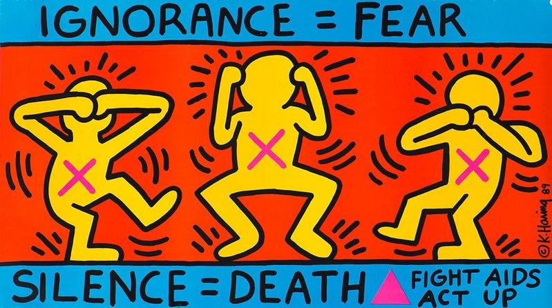 Ignorance = Fear 1989