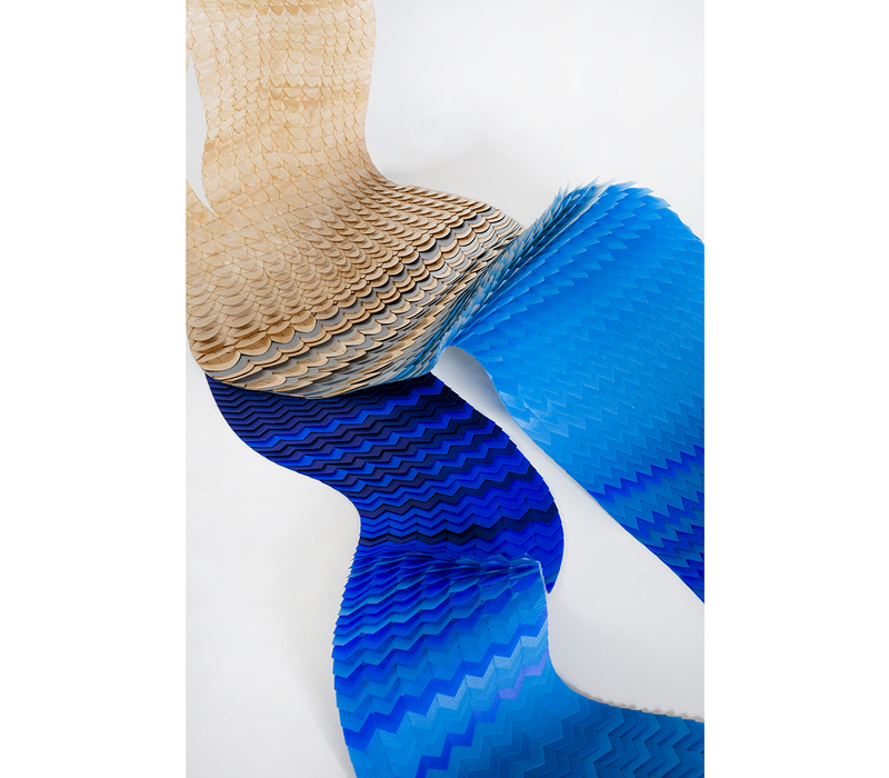 Minta is a modular structural system based on the art of weaving.