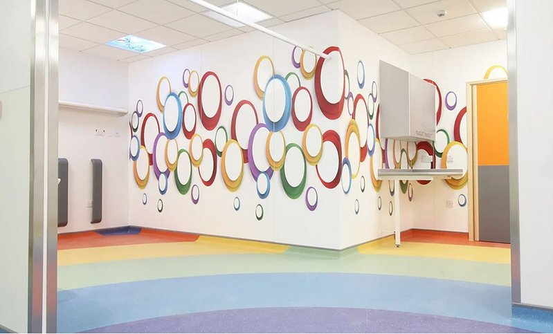 The Children's Emergency Department at Royal Free Hospital.
