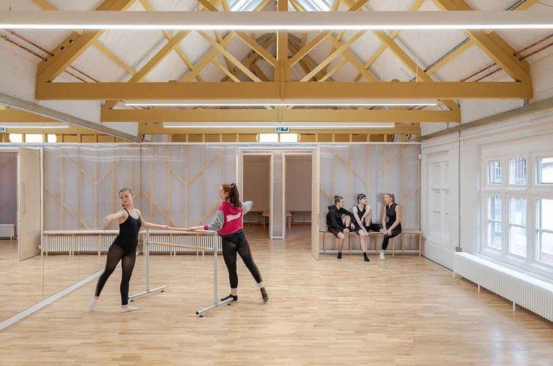 Inside Dk-CM's refurbished Harrow Arts Centre