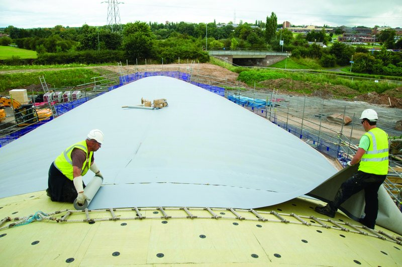 Whichever single-ply roof membrane you choose, your product is only as good as the skill of the installer.