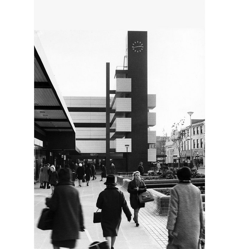 One of those that got built – BDP's 1969 Blackburn central area redevelopment.