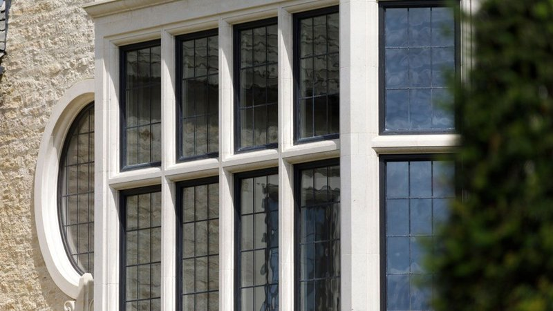 Architectural Bronze Casements' windows and doors are made from a high tensile manganese brass alloy, termed architectural bronze - an attractive, durable material.
