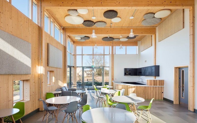 Raymond Fenton Youth and Community Centre, South Cerney, Gloucestershire. White Design Associates.