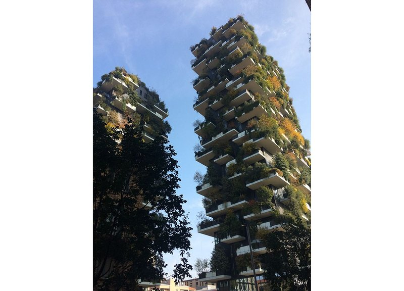 Bosco Verticale by Stefano Boeri, which takes some lessons from nature.