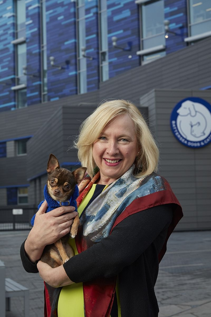 Claire Horton, CEO, Battersea Dogs and Cats Home.