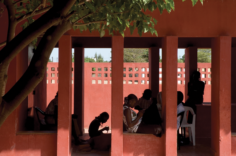 The Women's Centre in Senegal by Hollmén Reuter Sandman Architects from 2001.