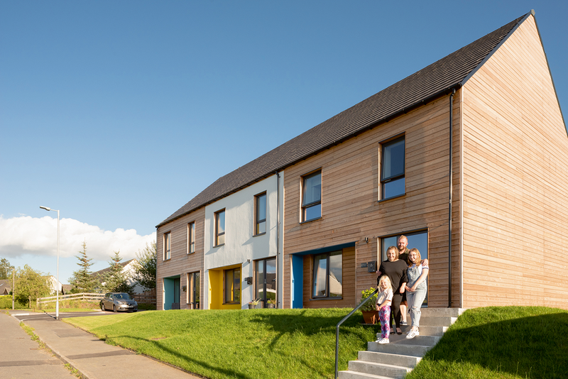 John Gilbert Architects/Stewart & Shields pushing passive principles at the level of social rent housing in Scotland.