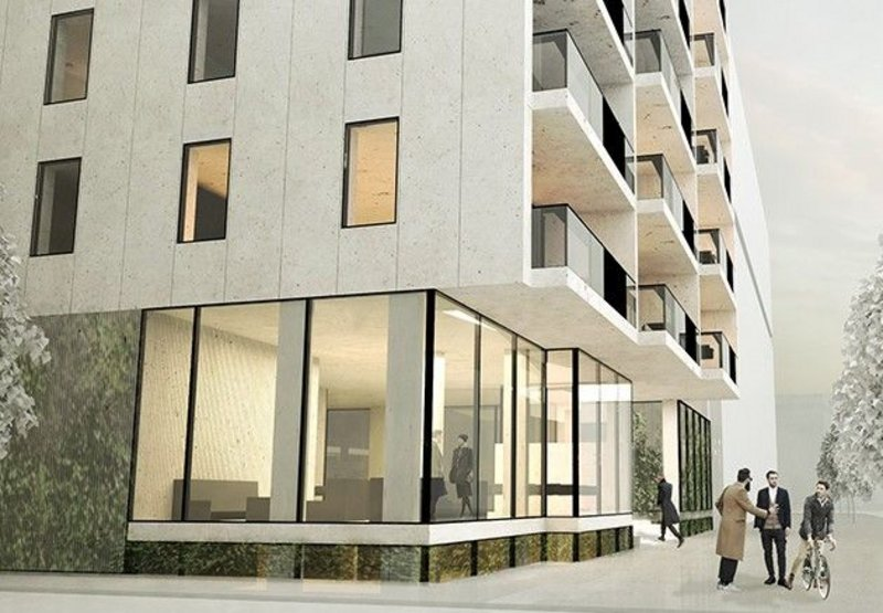 Reynaers' CW 50 curtain wall system will be used for the base of the Willemstower building in Rotterdam.