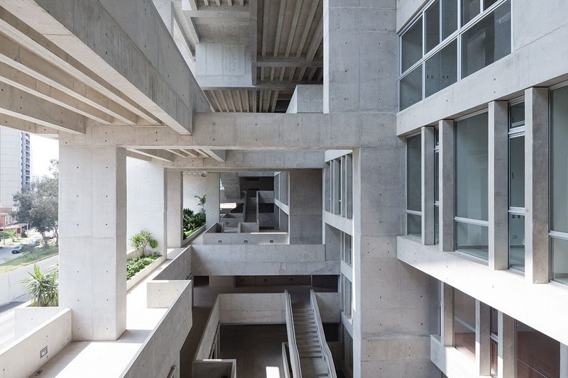 Inside Grafton's Universidad de Ingenieria y Tecnologia, Lima, Peru (2015).