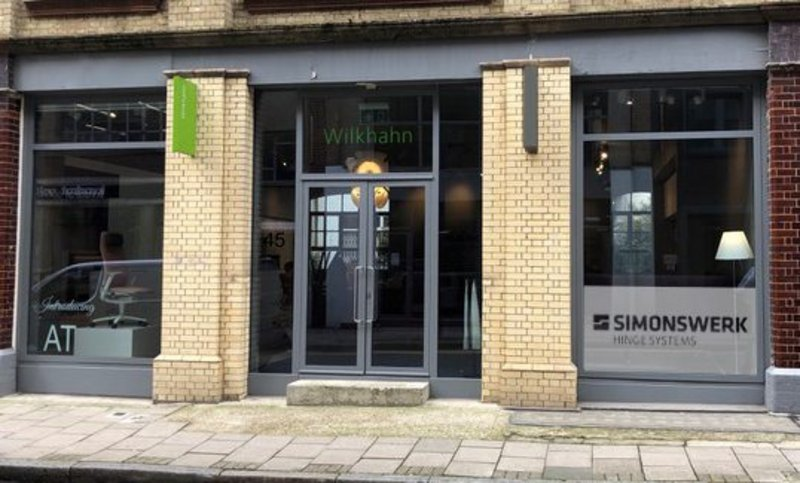 The Simonswerk showroom at 45 Great Sutton Street, Clerkenwell - just a short walk from Farringdon tube station.
