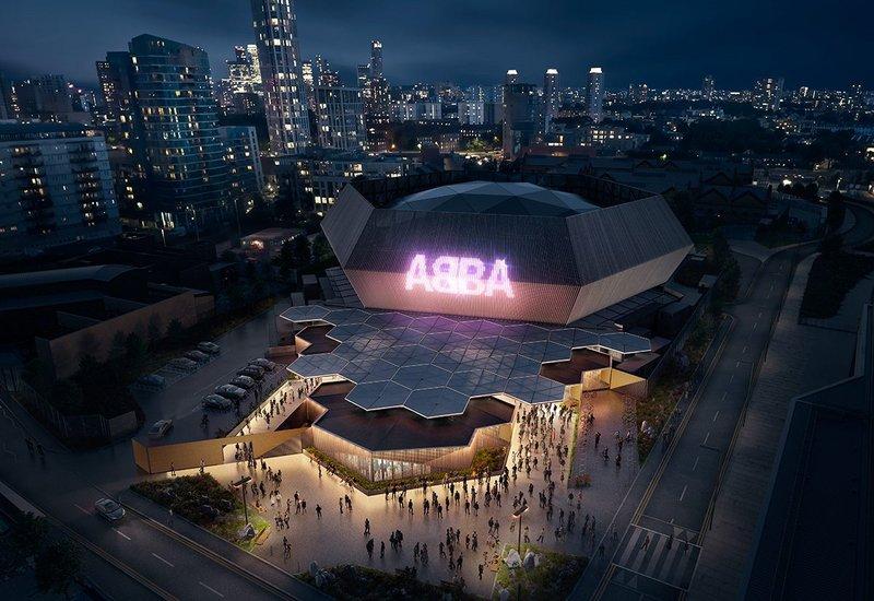ABBA Voyage. Artist impression by Stufish Entertainment Architects