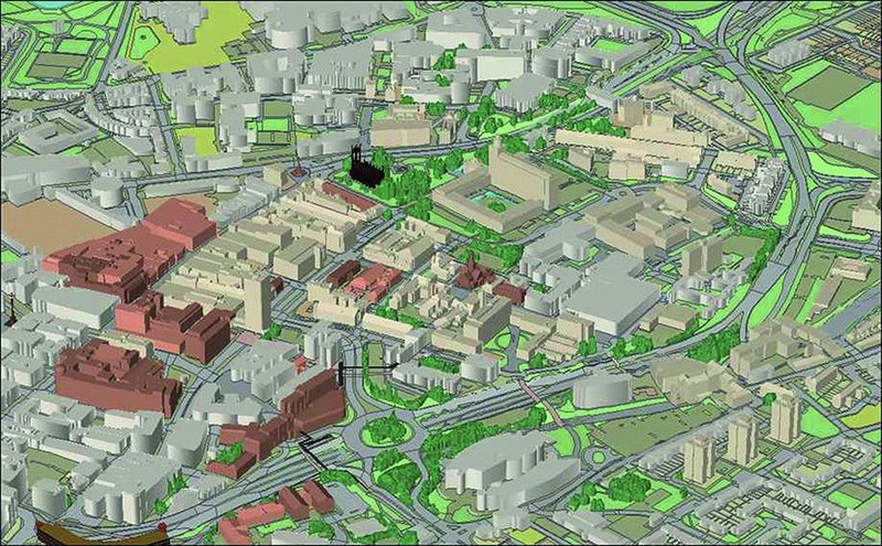 Could BIM linked to geographic data incorporate wider environmental modelling?