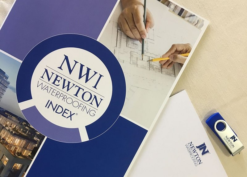 The revolutionary Newton Waterproofing Index is directly geared towards making the life of the modern-day architect as simple as possible.