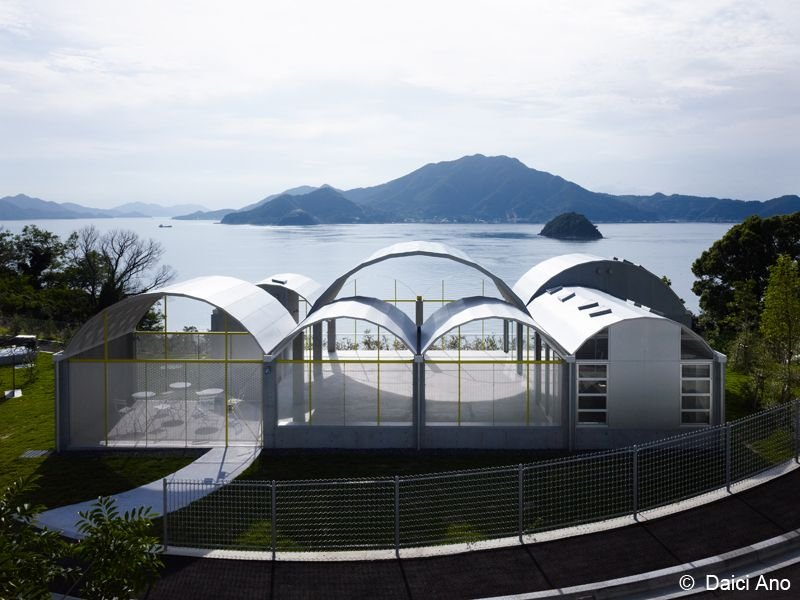 Silver Hut, Toyo Ito Museum of Architecture, Imabari, Japan, 2008-11