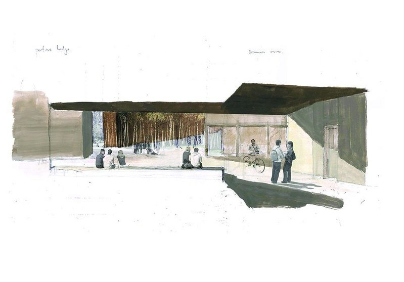 Ideas for north west Cambridge – part of the practice's beautifully drawn storytelling.