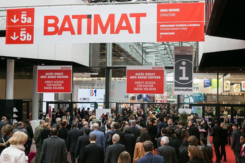 Le Mondial du Bâtiment brings together Batimat, Interclima + Elec and Idéobain, and will take place 6-10 November in Paris.