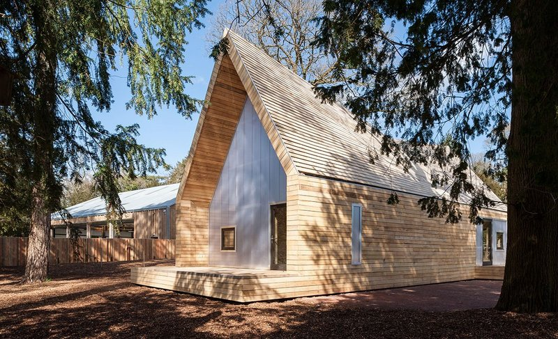 Wolfson Tree Management Centre, Tetbury by Invisible Studio
