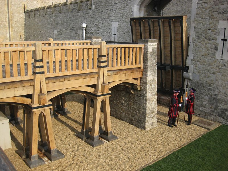 The Middle Drawbridge, Tower of London. GMT Timber Frames.
