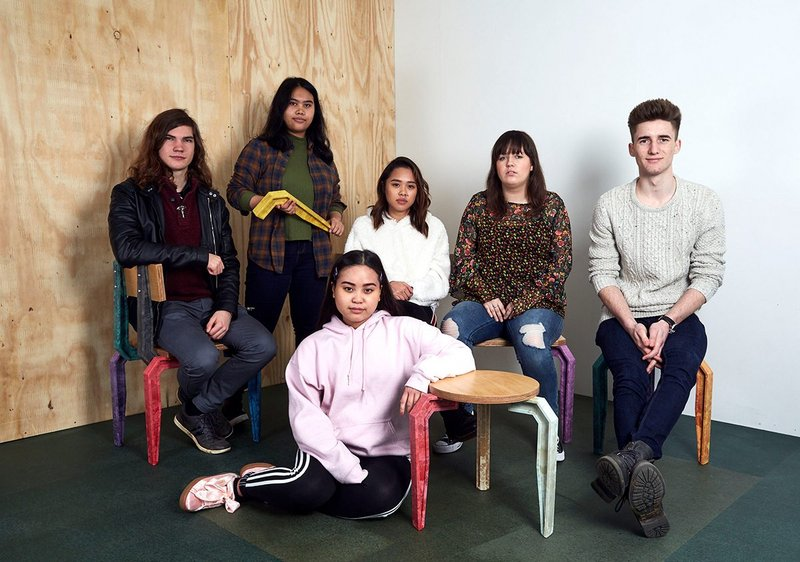 Wealdstone Youth Workshop. In this past outreach project, We Made That worked with a group of 16-19 year olds to develop and deliver furniture components for use in a new town square. Photo: © Thomas Adank