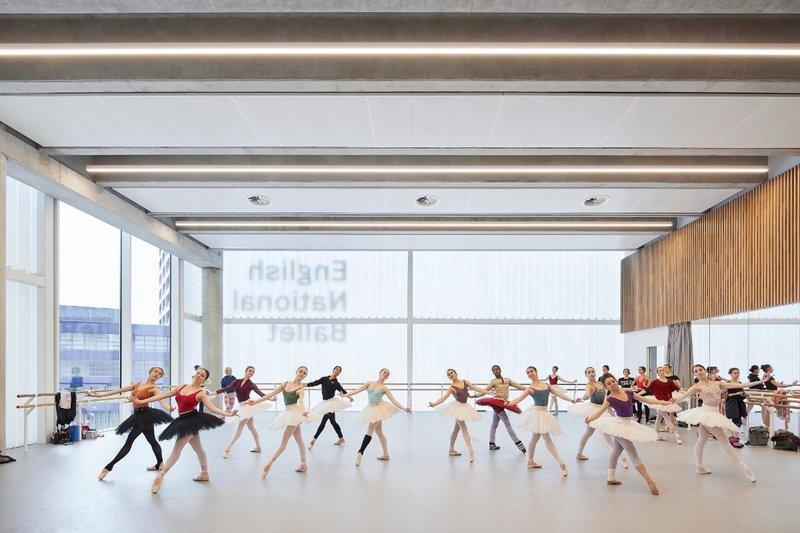English National Ballet, Canning Town, London, Glenn Howells.